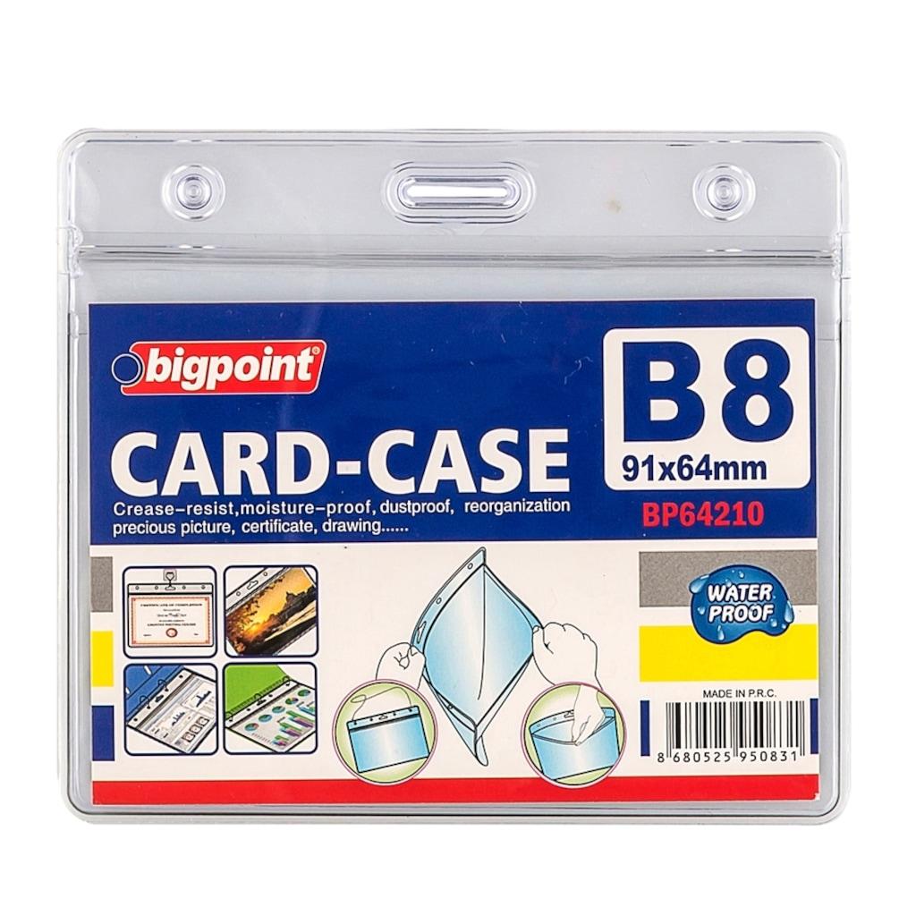 64148189 - Bigpoint Bp642-10 Kilitli Kart Poşeti Yatay B8 91x64 MM - n11pro.com