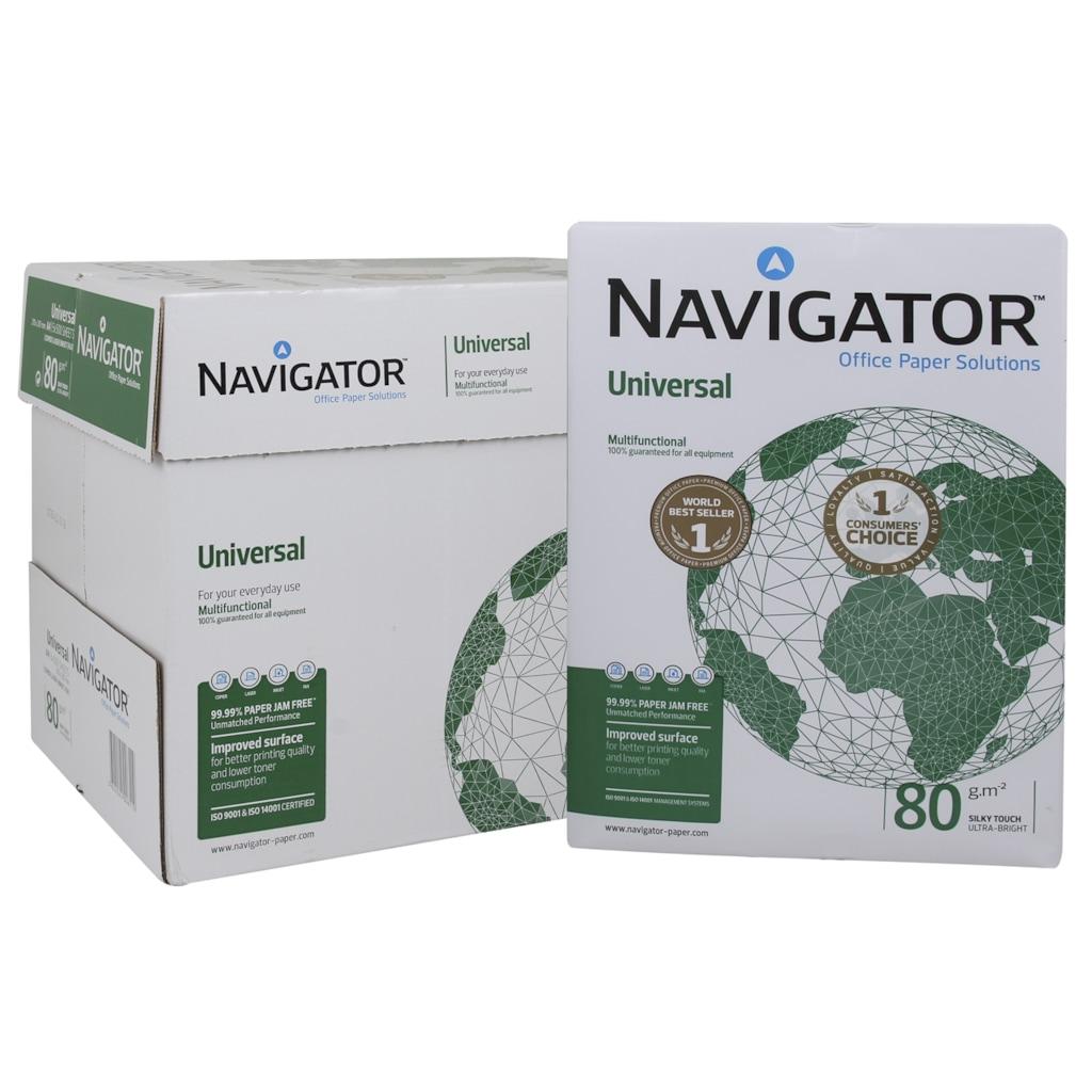23675898 - Navigator A4 80 Gr m² Fotokopi Kağıdı 5'li Paket Koli - n11pro.com