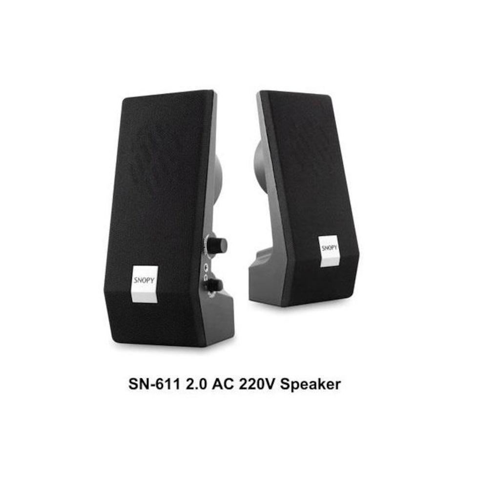 22725149 - Snopy SN-611 2.0 AC 220V Speaker - n11pro.com