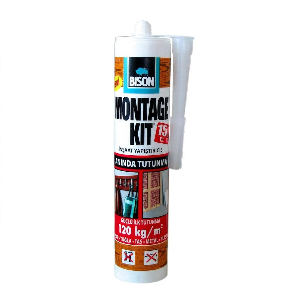 34901996 - Bison Montage Kit Anında Tutunma Kartuş 370 GR - n11pro.com