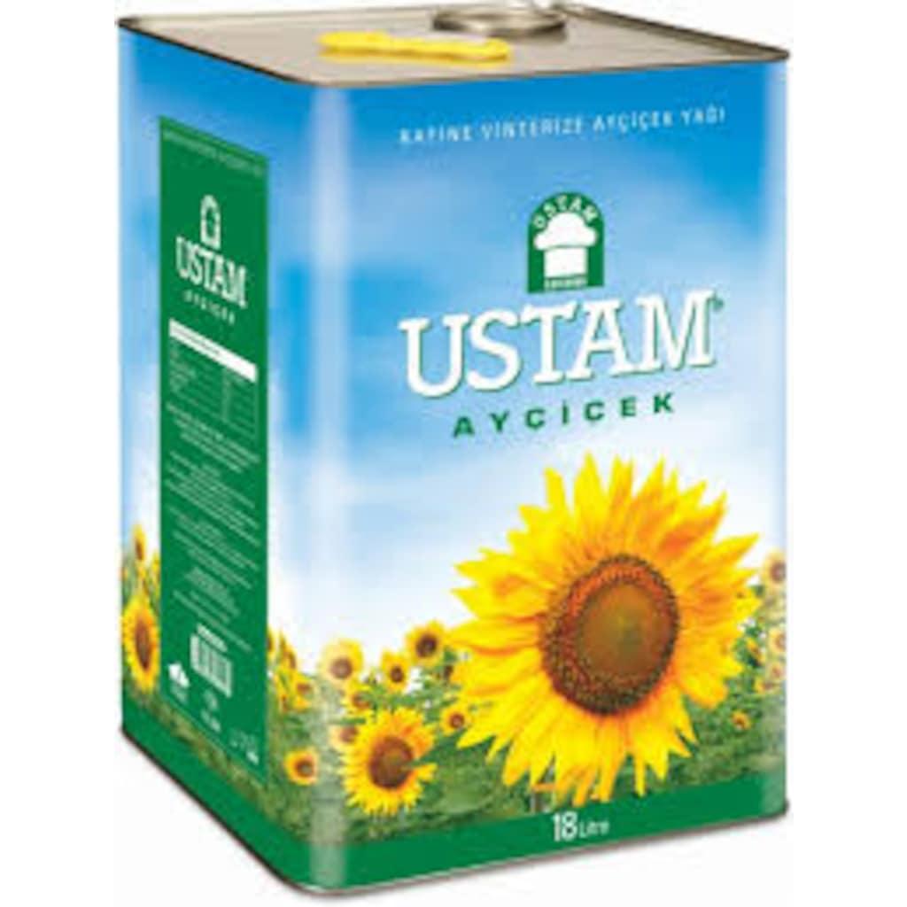 26893905 - Ustam Ayçiçek Yağı 18 LT - n11pro.com
