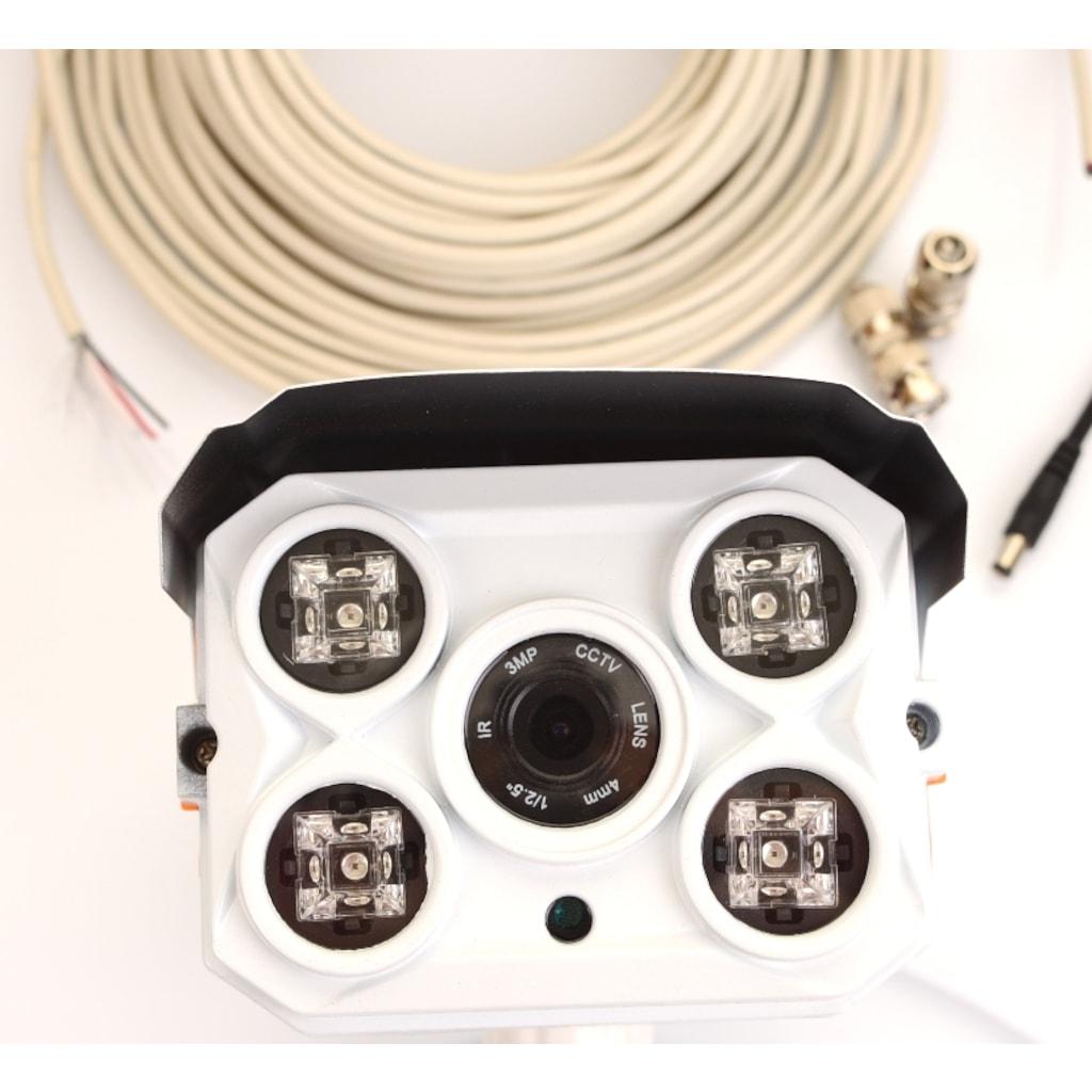 Analog Güvenlik Kamerası - Dome Kamera + Aparatlar