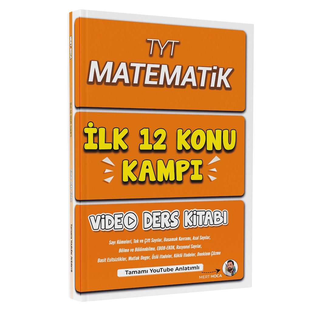 İlk 12 Konu Kampı Video Ders Kitabı Ekitap İndir   PDF   ePub   Mobi