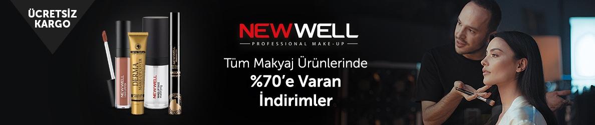 New Well Makyaj Ürünlerinde %70'e Varan İndirim