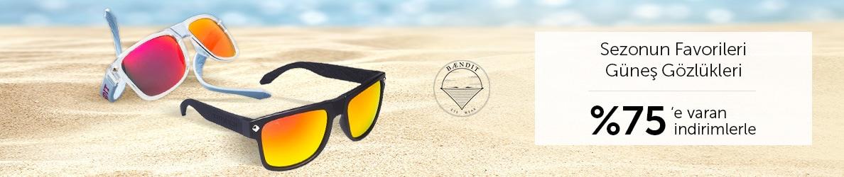Baendit Güneş Gözlüklerinde %75'e Varan İndirimler