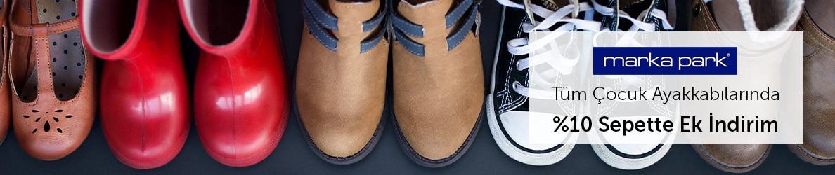 Markapark Tüm Çocuk Ayakkabılarında %10 Sepette Ek İndirim