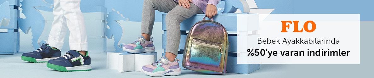 Flo Bebek Ayakkabılarında %50'ye Varan İndirimler