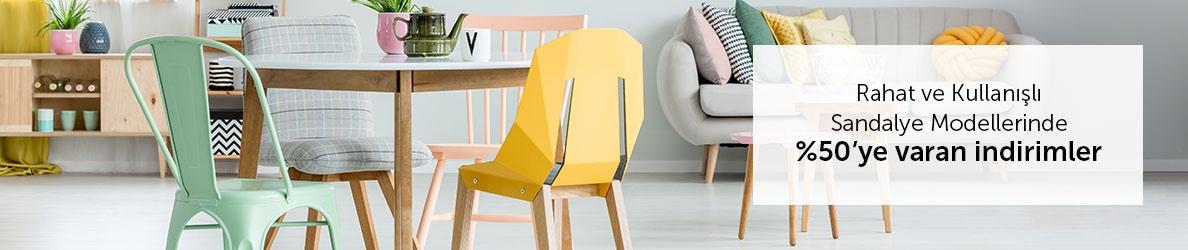 Sandalye Modellerinde Kampanya