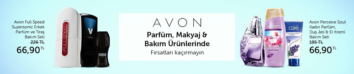 Avon Parfüm ve Güzellik Ürünlerinde Çok Avantajlı Fırsatlar