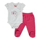 Fisher Price Yaz Kız Bebek Tatlı Kiraz Body-Patikli Alt Takım