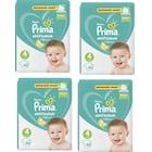 Prima 4 Maxi (9-14 kg) 4 lü paket 40x4=160 Adet