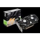 MSI GeForce GTX1050 TI 4GT OC GTX1050TI 4GB GDDR5 128b DX12 PCIE