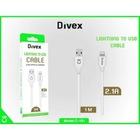 İphone tüm modellerle uyumlu hızlı sarj + data kablo divex