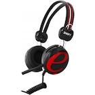 Snopy SN-98A Siyah/Kırmızı Kulak Üstü Kulaklık
