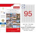 TANEX LASER ETİKET TW-2095 30 X 12 MM