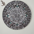 Aztek Maya Takvimi Polyester Dekoratif Duvar Objesi