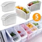 Buzdolabı Sepeti Dolap İçi Düzenleyici Sepet Organizer 5 Adet