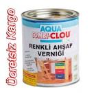 CLOU Su Bazlı Renkli Ahşap Verniği 375 ml