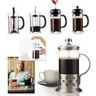 Süzgeçli Çay ve Kahve Kupası French Press 350 ml