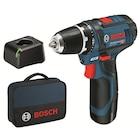Bosch Professional GSR 12V-15 12V 2Ah Li-ion Tek Akülü Delme Vidalama