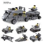 Tigoes 23058 6 in1 Lego Seti Warm26 Transporter 505 Parça