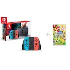 Nintendo Switch Renkli Oyun Konsolu + Super Mario Bros U Deluxe