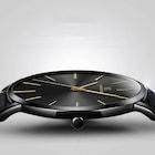 Kemanqi Ultra İnce Klasik Erkek Kol Saati Lüks Şık Tasarım Saat
