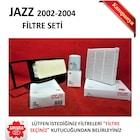 Filtre Seti [HND024FILTRESET] - Honda Jazz 2002-2004