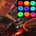 Araç Araba İçi Torpido Ledi Renkli İp Neon İp Led 2, 3, 5 Metre