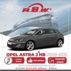 Rbw Opel Astra J Hb 2009 - 2015 Ön Muz Silecek Takımı
