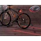 3 Fonksiyon Lazer Şeritli 7 Fonksiyon 5 Ledli Stop Bisiklet Lamba