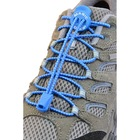 Magic Locks Kilitli Elastik Ayakkabı Bağcığı Mavi
