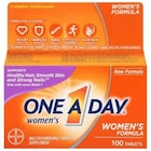 One A Day For Women Multivitamin Dietary Supplement 100 tablets