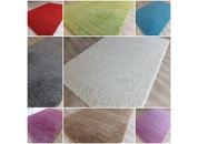 Merinos Düz Renk Shaggy Halı 4 m2  9 farklı Renk