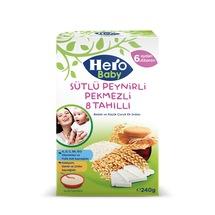 HERO BABY Sütlü Peynirli Pekmezli 8 Tahıllı 240 GR
