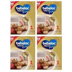 Bebelac Gold 1 Bebek Sütü 0+ Ay 4 x 900 G