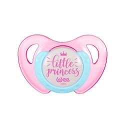 Wee Baby Desenli Kelebek Damaklı Emzik 0-6 Ay Little Princess