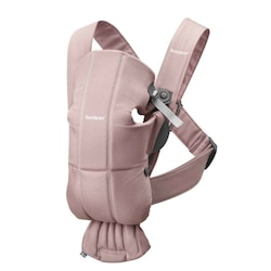 BabyBjörn Mini 3D Cotton Kanguru Dusty Pink