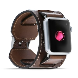 Bouletta Apple Watch Deri Kordon 38-40mm Cuff Taba