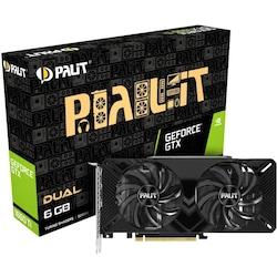 Palit NVIDIA GeForce GTX 1660 Ti Dual NE6166T018J9-1160A 6 GB 192 Bit GDDR6 Ekran Kartı