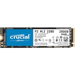 Crucial P2 250 GB CT250P2SSD8 2100-1150 MB/s NVMe PCIe M.2 SSD