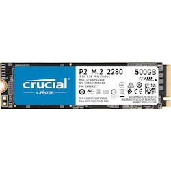 Crucial P2 CT500P2SSD8 500 GB 2300-940 MB/S NVMe PCIe M.2 SSD