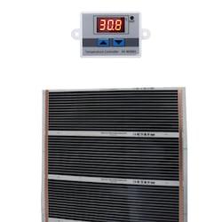 Ufuk Dağıtım Dijital Termostatlı Karbon Halı Altı Film Isıtıcı 100 x 150 CM