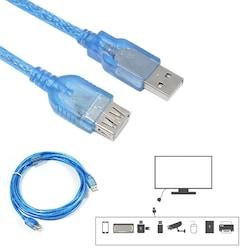 10 Metre USB Uzatma Kablosu  Usb 2.0 Dişi Erkek Uzatma Kablosu