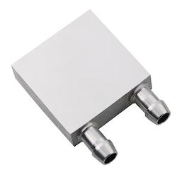 Alüminyum Sıvı Soğutma Bloğu 40x40x12mm