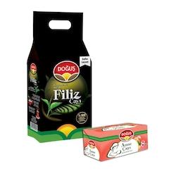 Doğuş Siyah Filiz Çay 3000 gr   +  Doğuş Anne Bitki Çayı HEDİYE!