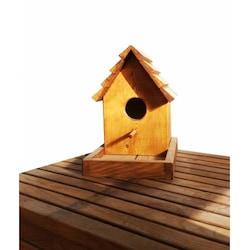 Ahşap Kuş Yuvası (Kuş Evi)