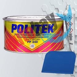 Politek Polyester Fiber ( Elyaf ) Macun Gri 2000Gr