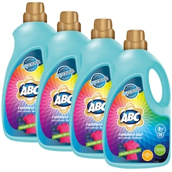 ABC Renklilere Özel Sıvı Çamaşır Deterjanı 50 Yıkama 4 x 3 L
