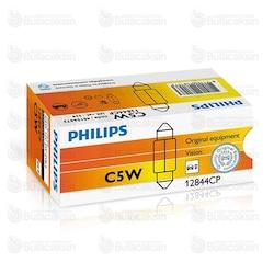 Philips Minyatür Vision 11x39 12V 5W Sofit 12844CP - 10 Adet